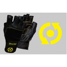 Glove Scitec - Yellow Leather Style